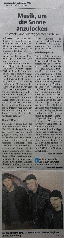 09/14 Münstersche Zeitung