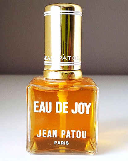 EAU DE JOY  - FLACON VAPORISATEUR PLEIN, DIFFERENT DU PRECEDENT PAR LE BOUCHON