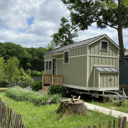 Meyers Tiny House 01 das Ferienhaus für Urlaub am See Badesee