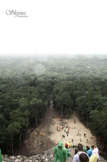 Cobá - Ausblick von oben