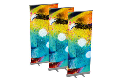 Rollup Banner und Displays