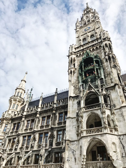 Munich Germany ofpenguinsandelephants of penguins & elephants town hall Marienplatz