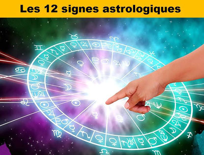 Les 12 signes astrologiques - Lithothérapie - Casa bien-être