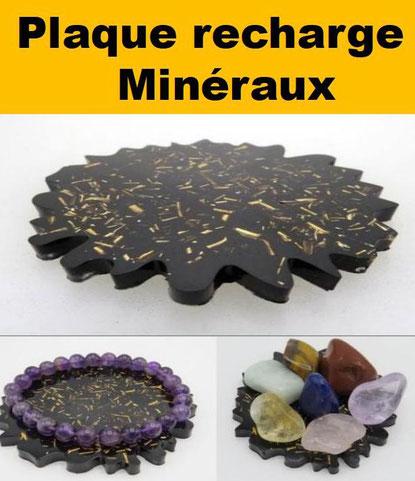 La plaque recharge minéraux - casa bien-être -