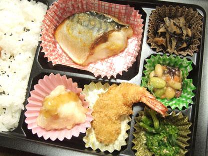ロケ弁当 サバの西京味噌
