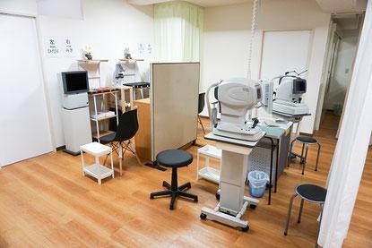 千葉北眼科-検査室