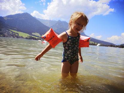 Bild: Baden im Walchsee
