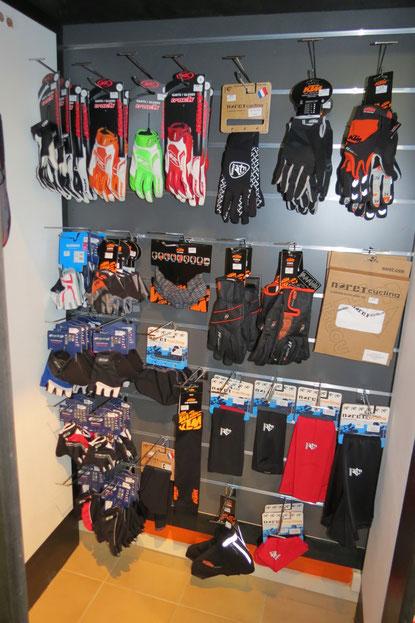 gants été , hiver ,et accessoires du cycliste