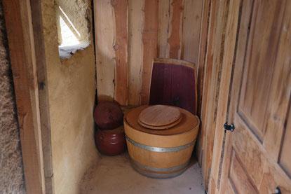 Komposttoilette, Trocketoilette, umweltschonend ohne Wasser, ohne Kläranlage,  Ferien ohne wifi und wlan