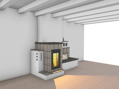 3-D-Planung: Ansicht-Kachelofen-oder-Cheminée