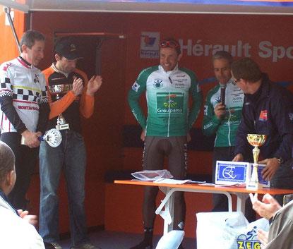 Stéphane Goubert aux couleurs du vélo-club, il fallait être là pour le voir !