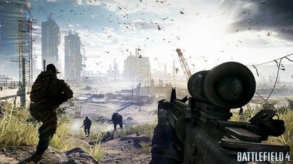 Battlefield 4 (Xbox / PS4) Xbox-Version läuft unter 720p, PS4-Fassung mit 900p, mehr Details und zusätzlichen Effekten. Gehört in der PS4-Fassung zu den technisch stärksten Titeln.
