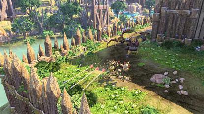 """Der knuffige """"Knack"""" sollte wohl ursprünglich das Potential der PS4 aufzeigen, durch ihre schiere Rechen-Power physische Effekte zu simulieren und ins Spielkonzept zu integrieren… doch das Resultat wirkt unfertig und inkonsequent. Unser Tipp: Abwarten, bi"""