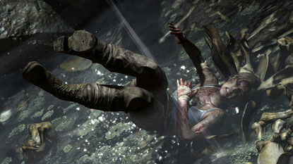 PLUMPS, das tat weh: Wer hoch hinaus will, muss erst tief fallen. Laras Schöpfer spielen ihr besonders zu Beginn des neuen Abenteuers übel mit.