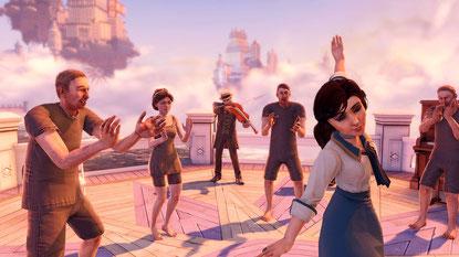 """Leider kein Grund mehr zum Tanzen: Elizabeth in """"Bioshock Infinite"""""""