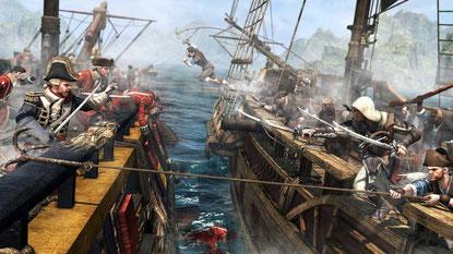 Assassin's Creed 4 (Xbox / PS4) Beide Fassungen kommen mit den selben grafischen Details und Effekten, die PS4-Fassung ist dank 1080p aber der klare Sieger (für Xbox nur 900p).