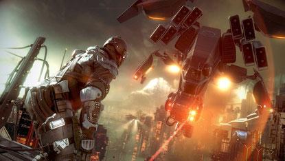 """Grafisch zwischen monumental und belanglos schwankender 1080p-Ego-Shooter mit gravierenden spielerischen Ausrutschern. Neben """"RYSE"""" und dem PS4-""""Battlefield"""" aber der hübscheste NextGen-Titel."""
