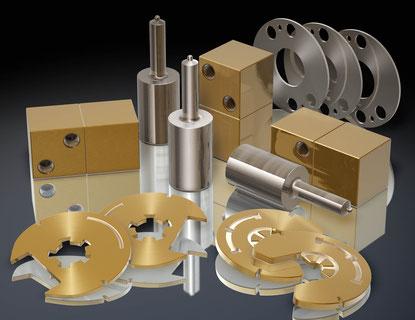 3D-Visualisierung Metallteile