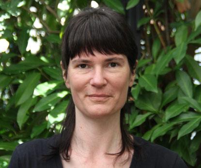 Profilbild von Rachel Maerki Landolt. Warmer, offener Blick aus braunen Augen und mit einem freundlichen Lächeln.