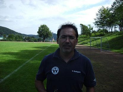 Spielausschussmitglied Silvino Rodrigues