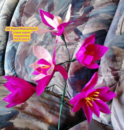 Paper Crepe - Magnolias