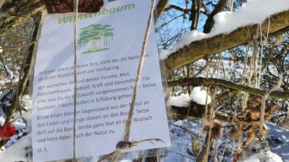 Der Wunschbaum erfüllt Wünsche...