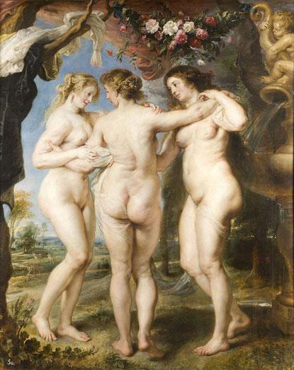 Три грации - Питер Пауль Рубенс. Шедевры музея Прадо в Мадриде