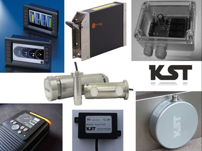 Displays, Control units and Sensors  -  KST forms a working system out of them.