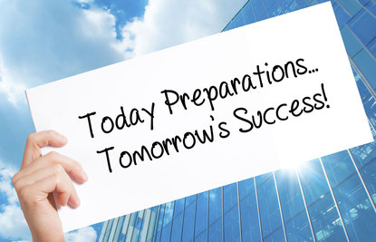 Today Preparations... Tomorrow's Success!!!