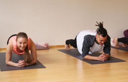 plank position yoga plank pose