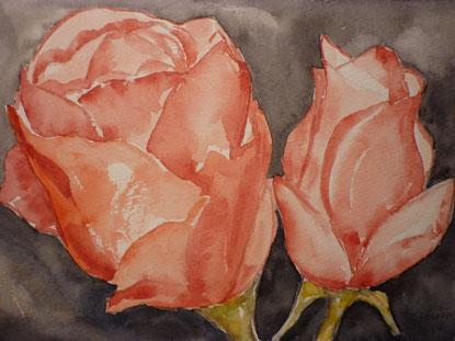 """""""Rosen"""" nach einem Foto von Alwin Lüke"""