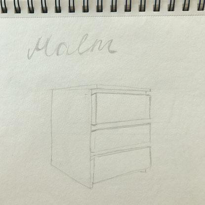 der kampf mit der perspektive 21qm interior design ausbildung stf diy raumgestaltung. Black Bedroom Furniture Sets. Home Design Ideas