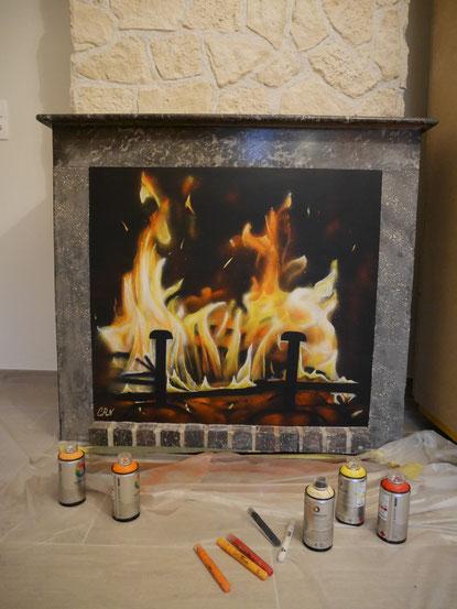 trompe-l'oeil-feu-cheminée-fresque-murale