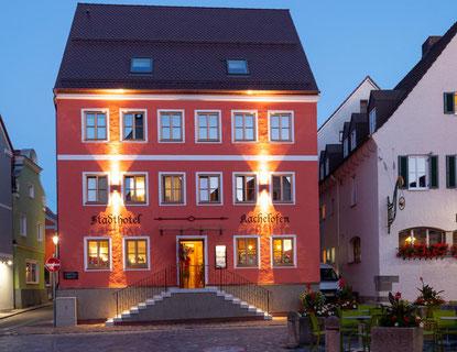 Betten und Türen aus Holz und weitere Beispielbilder der Schreinerei Fendt im Ostallgäu im Stadthotel Krumbach