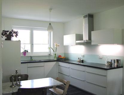 Küche aus Holz und weitere Beispielbilder von der Möbelschreinerei Fendt in Untrasried