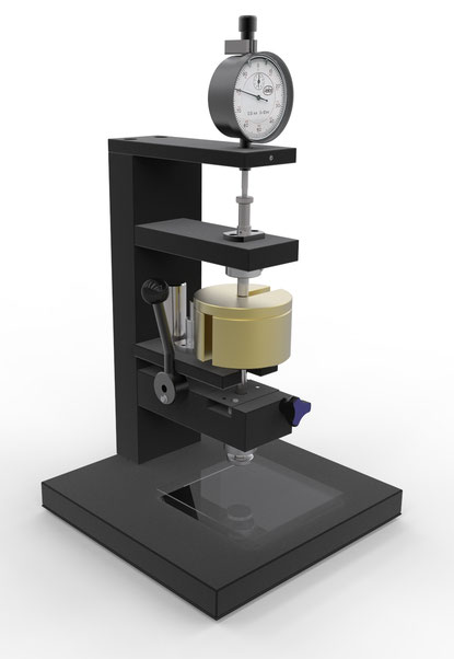 Dental Material Elastomeric impression materials Consistency Strain-in-compression test ISO 4823 Joachim Wilhelm Engineering
