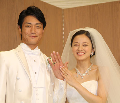 永井大・中越典子夫妻