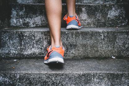 reeducation escalier