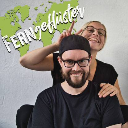 Ferngeflüster der Reise Podcast Logo