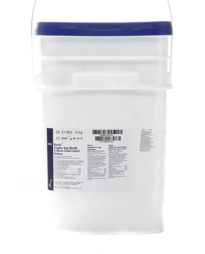 211823 BD Difco™ Caldo Soya Tripticaseína, 10 Kg