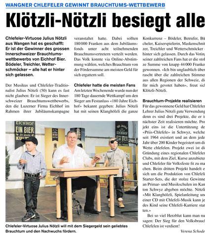 Julius Nötzli @Dä Nötzli mit dä Chlötzli @Chlefele