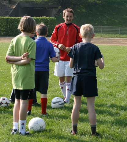 Dominik Langenegger Sport Training Fußball