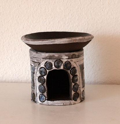 Duftlampe, Keramik, Ton, Duftöl, Räuchern, Weihnachten, Geschenk