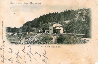 Bild: Wünschendorf Bahnstadion Reifland um 1880