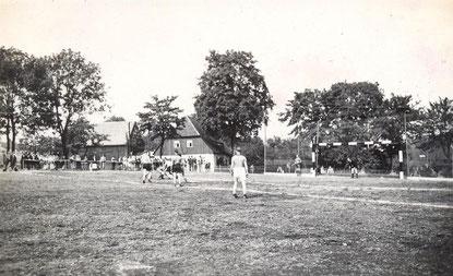 Bild: Wünschendorf Erzgebirge Handball 1935