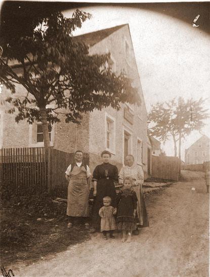 Bild: Wünschendorf Erzgebirge Kolonialwaren Geißler