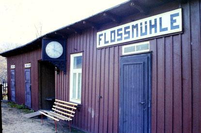Bild: Wünschendorf Haltepunkt Floßmühle