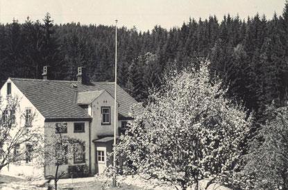 Bild: Klatzschmühle Wünschendorf Erzgebirge 1960