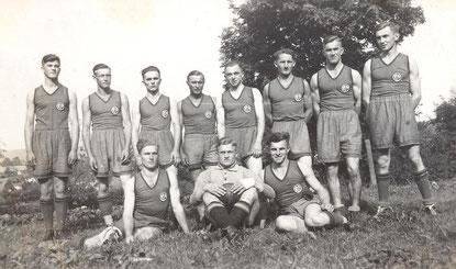 Bild: Wünschendorf Erzgebirge Handballmannschasft