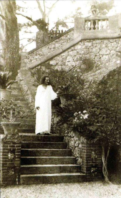 Baba at Portofino, Italy- July 1933.